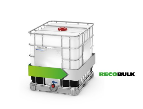 The Recobulk by Schütz has the same standard specification as the Ecobulk – both containers are 100 per cent compatible.