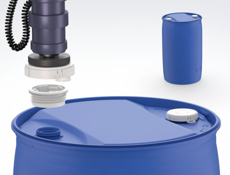 Automatic Lock is the only seal cap system with a plastic cap seal that is suitable for use with automatic drum filling systems.
