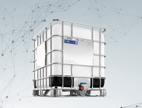 Thanks to its square shape, the IBC is a sustainable logistics tool.